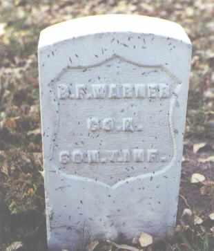 WARNER, B. F. - Rio Grande County, Colorado | B. F. WARNER - Colorado Gravestone Photos