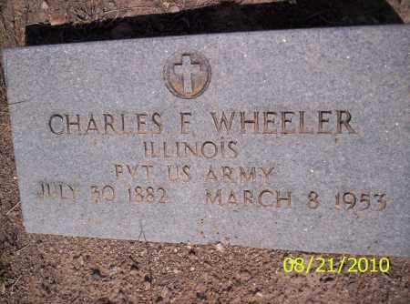 WHEELER, CHARLES F - Rio Grande County, Colorado | CHARLES F WHEELER - Colorado Gravestone Photos