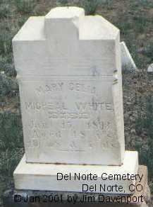 WHITE, MARY CELIA - Rio Grande County, Colorado   MARY CELIA WHITE - Colorado Gravestone Photos
