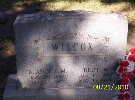WILCOX, BLANCHE M - Rio Grande County, Colorado   BLANCHE M WILCOX - Colorado Gravestone Photos