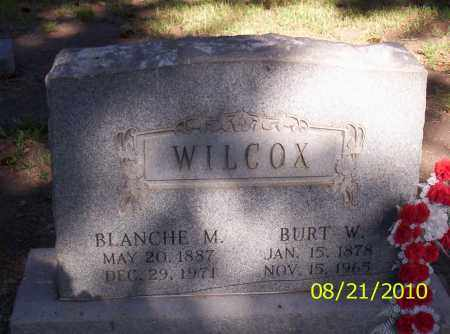 WILCOX, BURT W - Rio Grande County, Colorado | BURT W WILCOX - Colorado Gravestone Photos