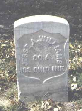 WILLIAMS, JESSE A. - Rio Grande County, Colorado   JESSE A. WILLIAMS - Colorado Gravestone Photos