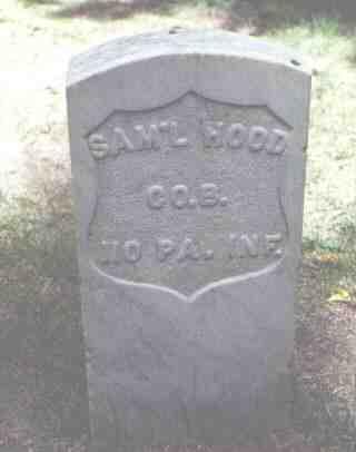 WOOD, SAM'L - Rio Grande County, Colorado   SAM'L WOOD - Colorado Gravestone Photos