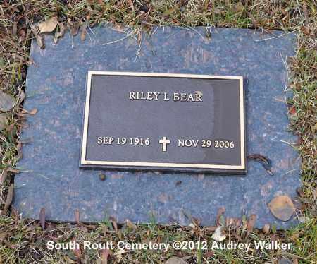 BEAR, RILEY L - Routt County, Colorado | RILEY L BEAR - Colorado Gravestone Photos