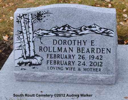BEARDEN, DOROTHY E. - Routt County, Colorado | DOROTHY E. BEARDEN - Colorado Gravestone Photos