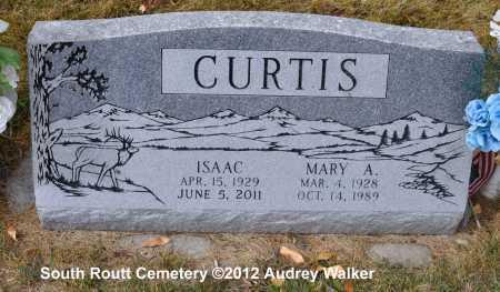 CURTIS, MARY A. - Routt County, Colorado | MARY A. CURTIS - Colorado Gravestone Photos