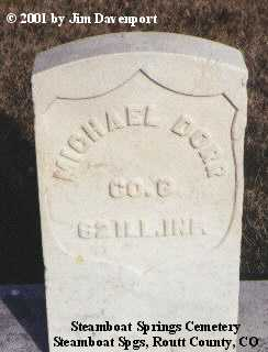 DORR, MICHAEL - Routt County, Colorado | MICHAEL DORR - Colorado Gravestone Photos