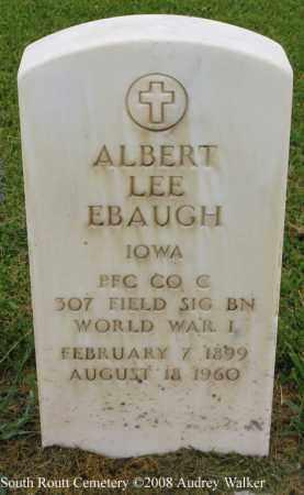 EBAUGH, ALBERT LEE - Routt County, Colorado | ALBERT LEE EBAUGH - Colorado Gravestone Photos