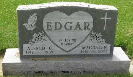EDGAR, ALFRED C. - Routt County, Colorado | ALFRED C. EDGAR - Colorado Gravestone Photos
