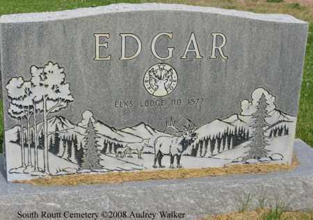 EDGAR, ALFRED MAGDALEN BACK - Routt County, Colorado | ALFRED MAGDALEN BACK EDGAR - Colorado Gravestone Photos
