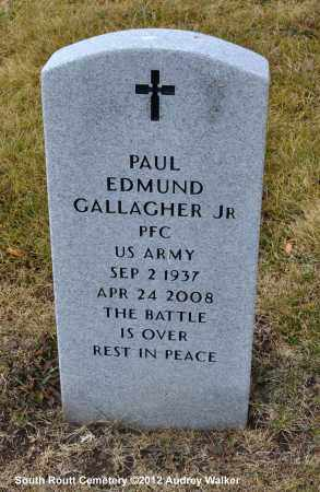 GALLAGHER, PAUL EDMUND JR. - Routt County, Colorado   PAUL EDMUND JR. GALLAGHER - Colorado Gravestone Photos