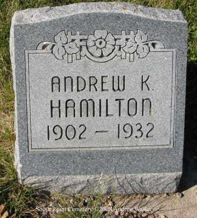 HAMILTON, ANDREW K - Routt County, Colorado | ANDREW K HAMILTON - Colorado Gravestone Photos