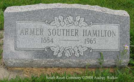 HAMILTON, ARMER SOUTHER - Routt County, Colorado | ARMER SOUTHER HAMILTON - Colorado Gravestone Photos