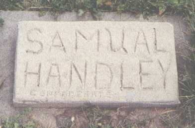 HANDLEY, SAMUAL - Routt County, Colorado | SAMUAL HANDLEY - Colorado Gravestone Photos