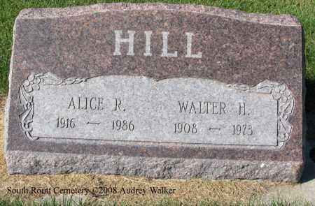 HILL, WALTER H. - Routt County, Colorado   WALTER H. HILL - Colorado Gravestone Photos