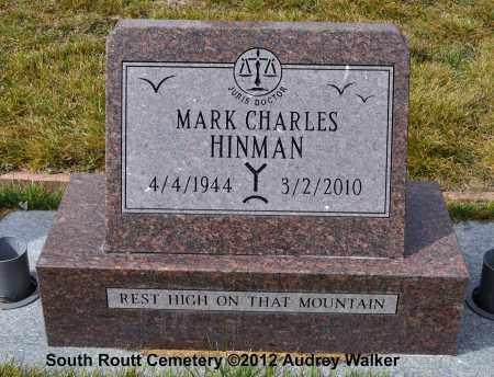 HINMAN, MARK CHARLES - Routt County, Colorado | MARK CHARLES HINMAN - Colorado Gravestone Photos