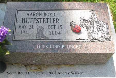 HUFFSTETLER, AARON BOYD - Routt County, Colorado   AARON BOYD HUFFSTETLER - Colorado Gravestone Photos