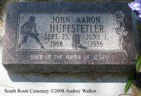 HUFFSTETLER, JOHN AARON - Routt County, Colorado | JOHN AARON HUFFSTETLER - Colorado Gravestone Photos
