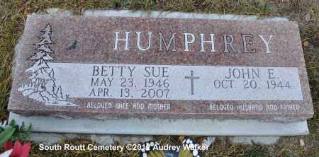 HUMPHREY, BETTY SUE - Routt County, Colorado | BETTY SUE HUMPHREY - Colorado Gravestone Photos