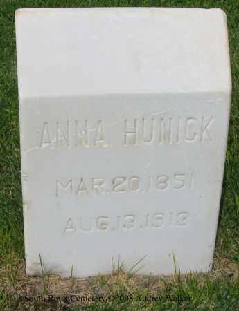 HUNICK, ANNA - Routt County, Colorado | ANNA HUNICK - Colorado Gravestone Photos