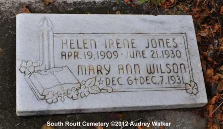 WILSON, MARY ANN - Routt County, Colorado | MARY ANN WILSON - Colorado Gravestone Photos