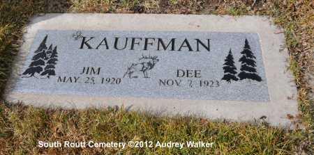 KAUFFMAN, JIM - Routt County, Colorado   JIM KAUFFMAN - Colorado Gravestone Photos