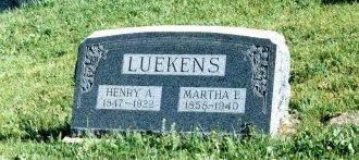BUNCH LUEKENS, MATTIE E - Routt County, Colorado | MATTIE E BUNCH LUEKENS - Colorado Gravestone Photos