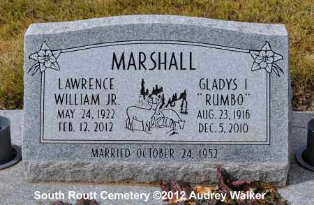 MARSHALL, LAWRENCE WILLIAM JR. - Routt County, Colorado | LAWRENCE WILLIAM JR. MARSHALL - Colorado Gravestone Photos