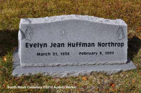 HUFFMAN MORTHROP, EVELYN JEAN - Routt County, Colorado | EVELYN JEAN HUFFMAN MORTHROP - Colorado Gravestone Photos