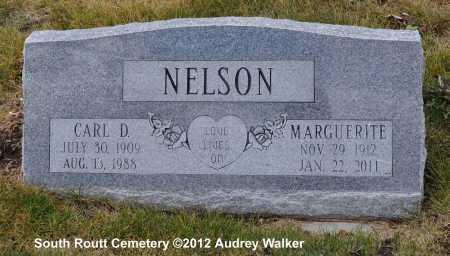 NELSON, CARL D. - Routt County, Colorado | CARL D. NELSON - Colorado Gravestone Photos