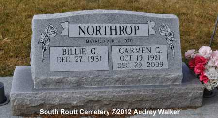 NORTHROP, CARMEN G. - Routt County, Colorado | CARMEN G. NORTHROP - Colorado Gravestone Photos