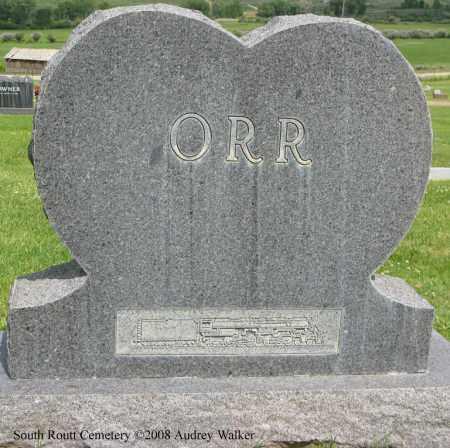 ORR, ARTHUR BACK - Routt County, Colorado | ARTHUR BACK ORR - Colorado Gravestone Photos