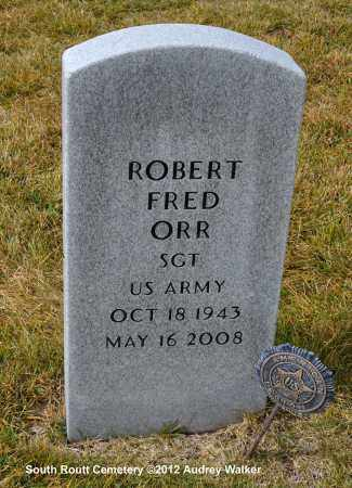 ORR, ROBERT FRED - Routt County, Colorado   ROBERT FRED ORR - Colorado Gravestone Photos