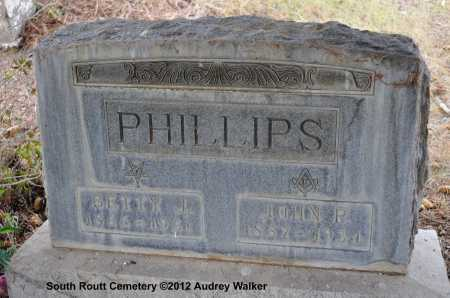PHILLIPS, BETTY J. - Routt County, Colorado | BETTY J. PHILLIPS - Colorado Gravestone Photos