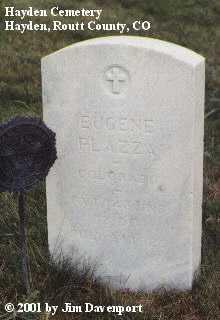 PLAZZA, EUGENE - Routt County, Colorado   EUGENE PLAZZA - Colorado Gravestone Photos