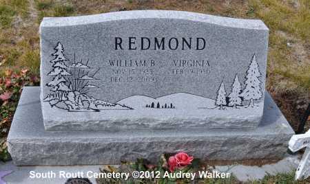 REDMOND, VIRGINIA - Routt County, Colorado | VIRGINIA REDMOND - Colorado Gravestone Photos