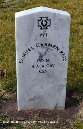 REID, SAMUEL CARMEN - Routt County, Colorado | SAMUEL CARMEN REID - Colorado Gravestone Photos