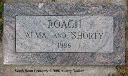 ROACH, SHORTY - Routt County, Colorado | SHORTY ROACH - Colorado Gravestone Photos