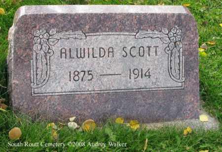 SCOTT, ALWILDA - Routt County, Colorado | ALWILDA SCOTT - Colorado Gravestone Photos