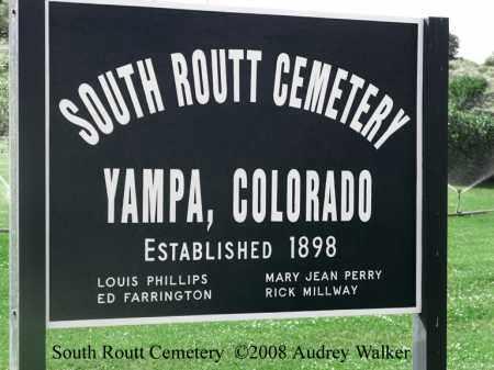 SOUTH ROUTT CEMETERY, SOUTH ROUTT CEMETERY - Routt County, Colorado | SOUTH ROUTT CEMETERY SOUTH ROUTT CEMETERY - Colorado Gravestone Photos