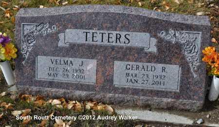 TETERS, VELMA J. - Routt County, Colorado | VELMA J. TETERS - Colorado Gravestone Photos