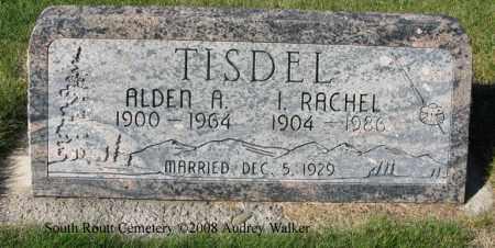 TISDEL, ALDEN A. - Routt County, Colorado | ALDEN A. TISDEL - Colorado Gravestone Photos