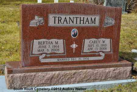 TRANTHAM, BERTHA M. - Routt County, Colorado | BERTHA M. TRANTHAM - Colorado Gravestone Photos