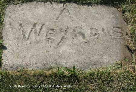 WEYROUS, A. - Routt County, Colorado | A. WEYROUS - Colorado Gravestone Photos