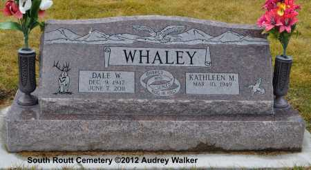 WHALEY, DALE W. - Routt County, Colorado | DALE W. WHALEY - Colorado Gravestone Photos