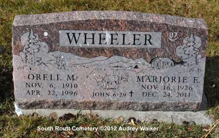 WHEELER, ORELL M. - Routt County, Colorado   ORELL M. WHEELER - Colorado Gravestone Photos