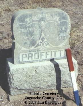 PROFFITT, JOHN W. - Saguache County, Colorado | JOHN W. PROFFITT - Colorado Gravestone Photos