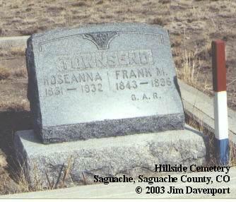 TOWNSEND, ROSEANNA - Saguache County, Colorado | ROSEANNA TOWNSEND - Colorado Gravestone Photos