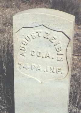 ZEIBIG, AUGUST - Saguache County, Colorado   AUGUST ZEIBIG - Colorado Gravestone Photos
