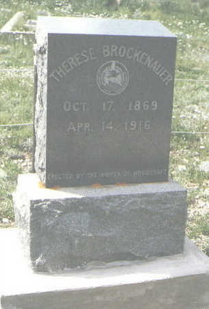 BROCKENAUER, THERESE - San Juan County, Colorado | THERESE BROCKENAUER - Colorado Gravestone Photos